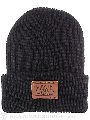 Skate Warehouse B & E Beanie Black One Size