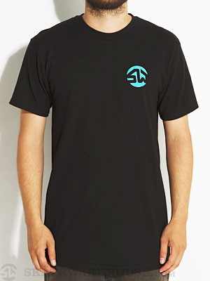 Skate Warehouse Dot Icon Tee Black SM