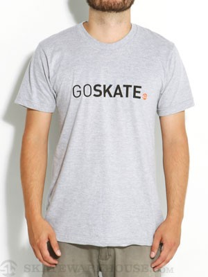 SW 800 Go Skate Tee Heather Grey XXL