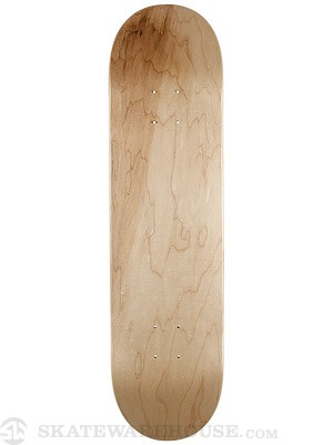 Skate Warehouse Blank V-Natural Deck 7.825 x 31.75