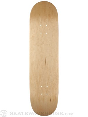 Skate Warehouse Blank V-Natural Deck 8.37 x 31.75