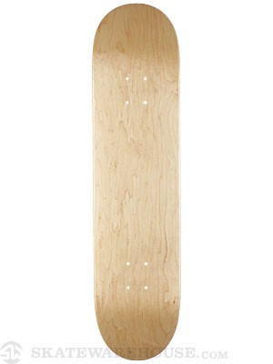 Skate Warehouse Blank V-Natural Deck  8.0 x 31.75