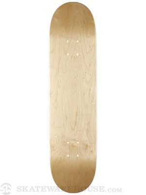 Skate Warehouse Blank V-Natural Deck  8.25 x 32