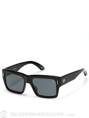 Spy Bowery Black w/Grey Polarized Lens