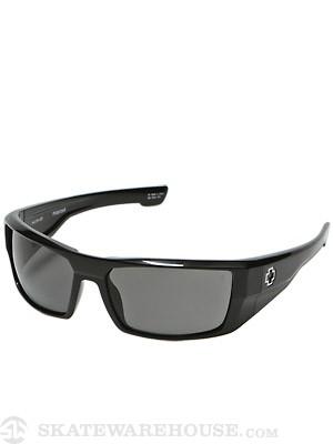 Spy Dirk Black Gloss w/Grey Polarized Lens