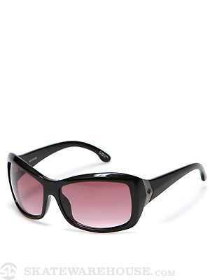 Spy Farrah Girls Black/Merlot Fade Lens