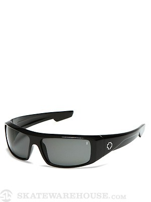 Spy Logan Black Gloss w/Grey Polarized Lens