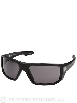 Spy McCoy Black w/Grey Lens