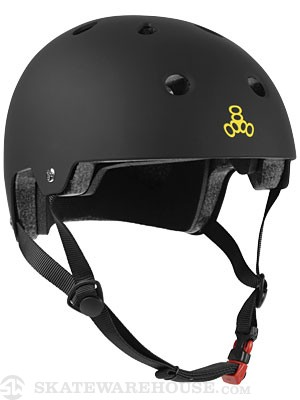 Brainsaver Dual Certified Helmet Black Rub LG/XL