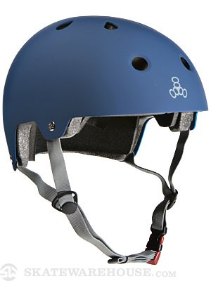 Brainsaver Dual Certified Helmet Blue Rub SM/MD