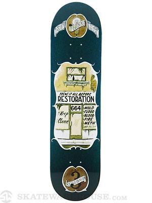 Think 3 Reasons Restoration Deck  8.25 x 32