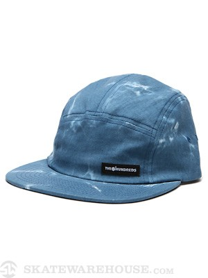 The Hundreds Dyed 5 Panel Hat Blue