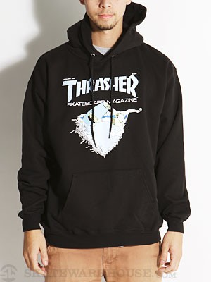 Thrasher First Cover Hoodie Black MD