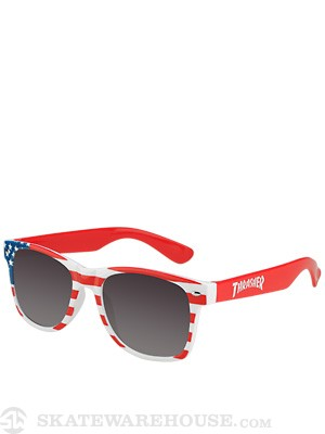 Thrasher Logo Sunglasses Patriot