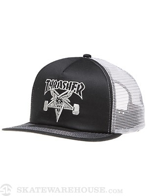 Thrasher Skate Goat Mesh Hat Black/Grey