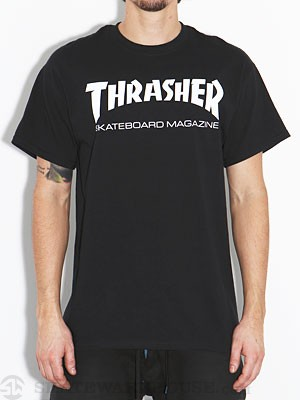 Thrasher Skate Mag Tee Black MD