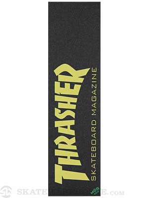 Thrasher Skate Mag Yellow Griptape by Mob