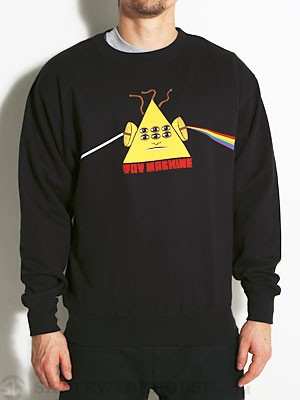Toy Machine Darkside Crew Sweatshirt Black SM