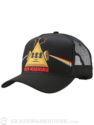 Toy Machine Darkside Mesh Hat Black Adjust