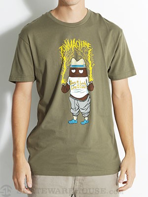 Toy Machine Poo Poo F.U. Tee Army XL