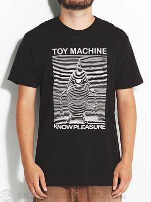 Toy Machine Sect Division Premium Tee Black LG