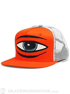 Toy Machine Sect Eye Mesh Hat Orange Adjustable