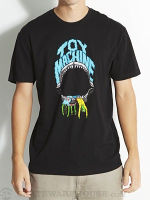 Toy Machine Shark Bite Tee Black SM