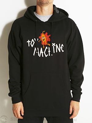 Toy Machine Splat Hoodie Black SM