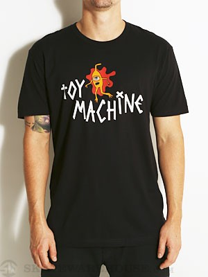 Toy Machine Splat Tee Black MD