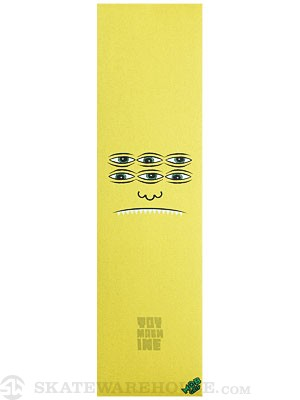 Toy Machine Trans Face Griptape by Mob  Yellow