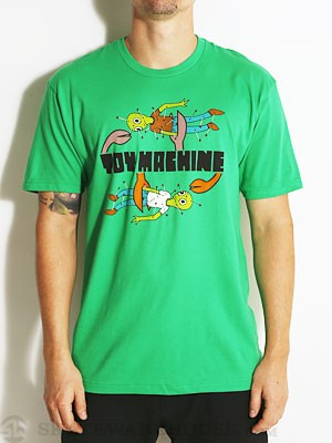 Toy Machine Turtle Doll Tee Heather Kelly Grn SM