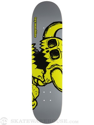 Toy Machine Vice Dead Monster Grey Deck 7.875 x 31.125