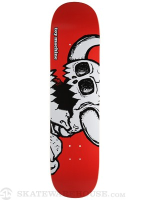 Toy Machine Vice Dead Monster Red Deck 8.125 x 31.625