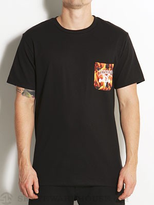 Thrasher Inferno Pocket Tee Black SM