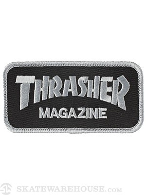 Thrasher Logo Patch Black