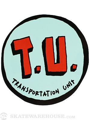 Transportation Unit Classic T.U. Sticker
