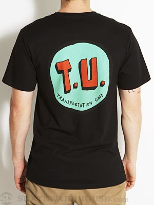 Transportation Unit Classic T.U. Tee Black LG