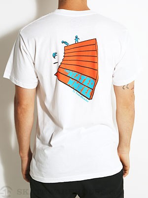 Transportation Unit The Heated Wheel Tee White SM