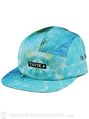 Tavik Brody 5 Panel Hat Green Adjust