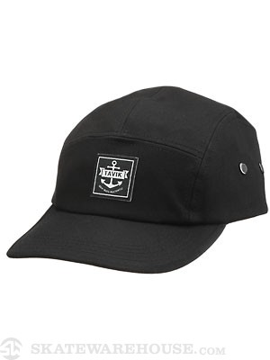 Tavik Fremont 5 Panel Hat Black Adjust