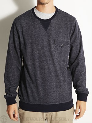 Tavik Preston Crew Sweatshirt Indigo MD