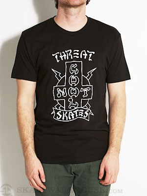 Threat by Zero Not Cool Tee Black MD