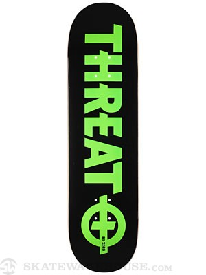 Threat by Zero Standard Green Deck  8.25 x 32.25