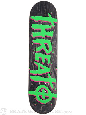Threat by Zero Street Trash Black Deck 8.0 x 32