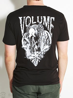 Vol 4 Vulture Tee Black/White SM