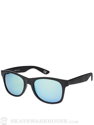 Vans Spicoli 4 Sunglasses  Black/Green Mirrored Lens