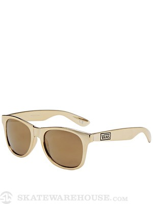 Vans Spicoli 4 Sunglasses Metallic Gold