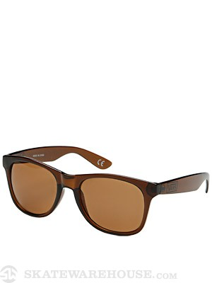 Vans Spicoli 4 Sunglasses Translucent Brown/Brown