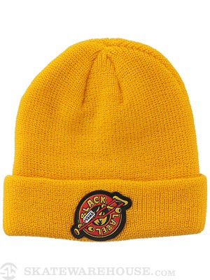 Vans Black Label Skateboards Beanie Yellow