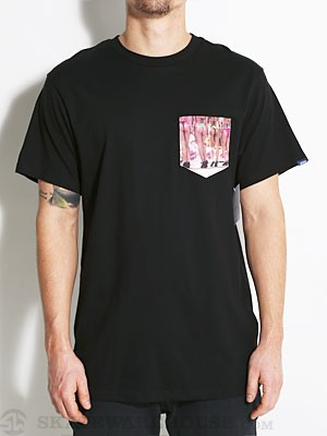 Vans Buns Pocket Tee Black LG